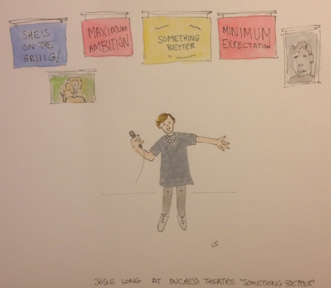 Lorna draws … Josie Long