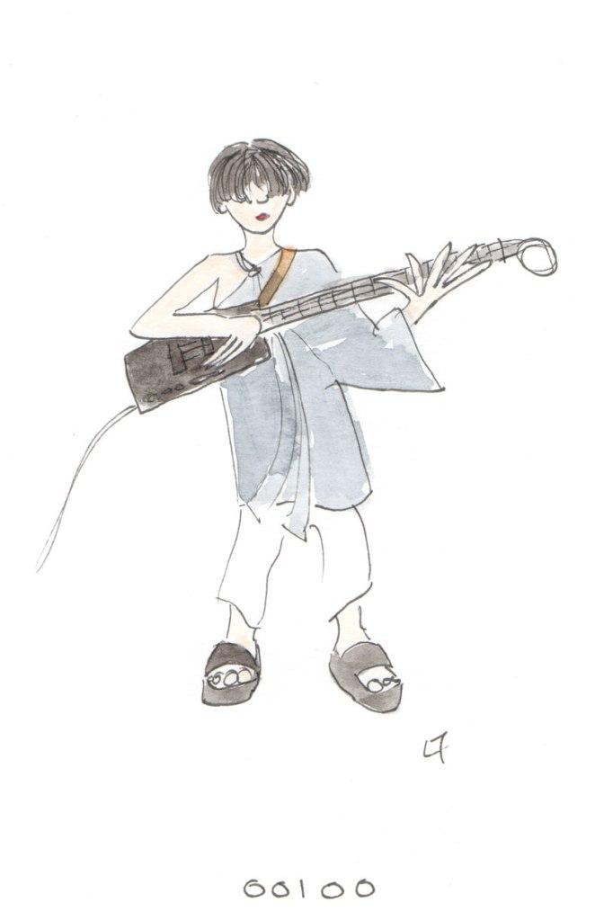 Lorna draws … OOIOO