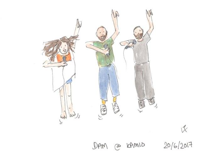 Lorna draws … DAM