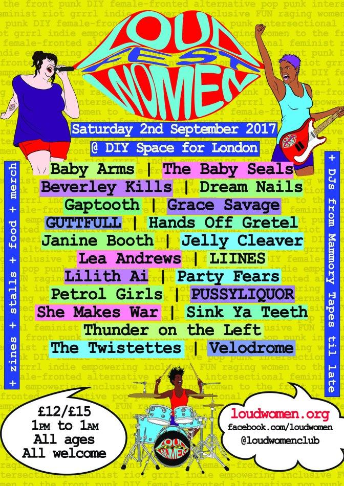 LOUD WOMEN Fest – Final line-up announced!