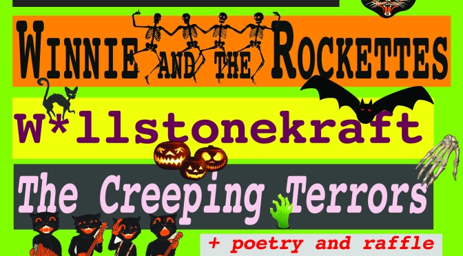 3rd Nov – Witch Fest! Art Trip and the Static Sound + Winnie and The Rockettes + W*llstonekraft + The Creeping Terrors