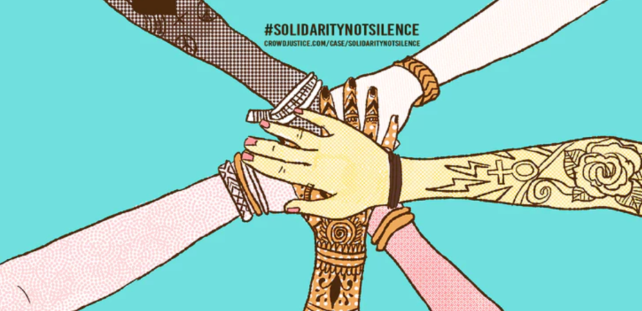 https://www.crowdjustice.com/case/solidaritynotsilence