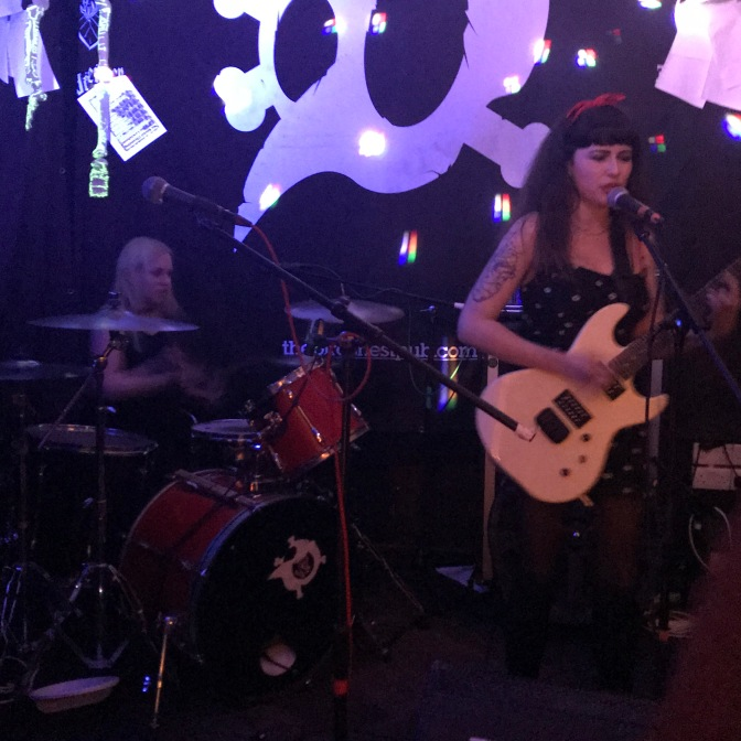 Vulpynes, Militant Girlfriend and Duck at the Birds Nest, 18 Nov 2017