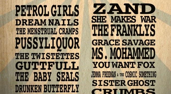 LOUD WOMEN Fest – running order announced!