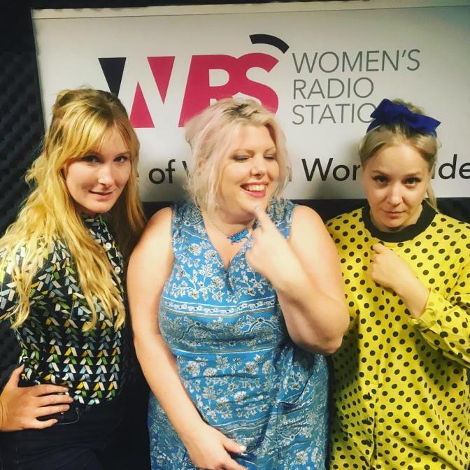 The Franklys – live on the LOUD WOMEN show on Women's Radio Station