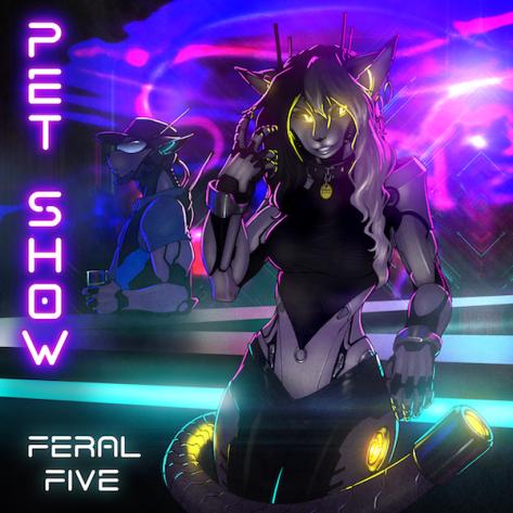 FeralFive_PetShow_artworkbyStrype_Text_600