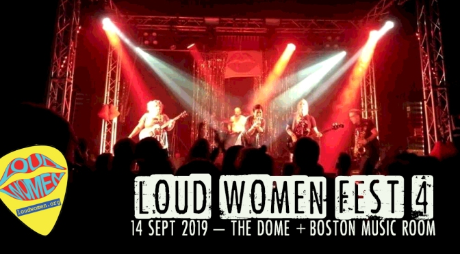 Pssst. Band/artist applications for LOUD WOMEN Fest 4 are now open!