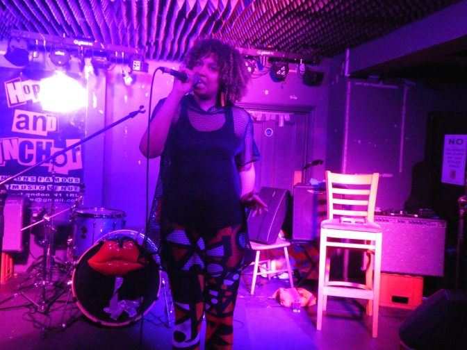 Thunder Thighs, 3D printing, Jiggly Bopsiwotsit, Wonder Wimmin, and a bonus post-patriarchy disco: a triumph of a LOUD WOMEN night at the Hope & Anchor – photo gallery
