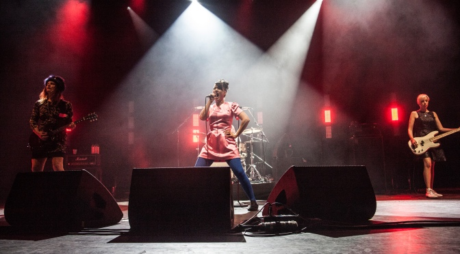 The  Feeding of the 5000: Bikini Kill, Brixton Academy, London, 10 June 2019