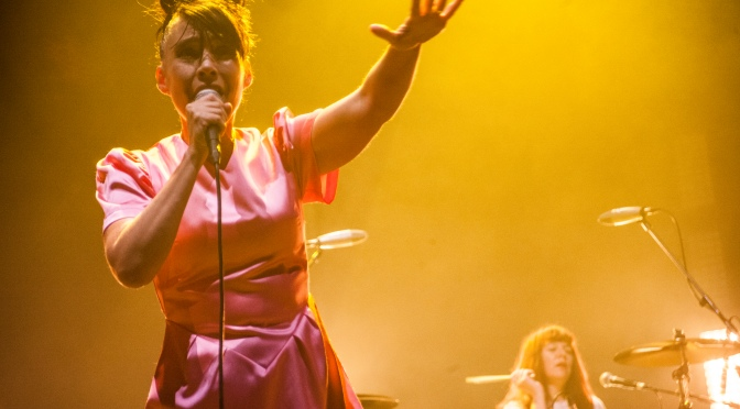 Bikini Kill in London, 10 June 2019