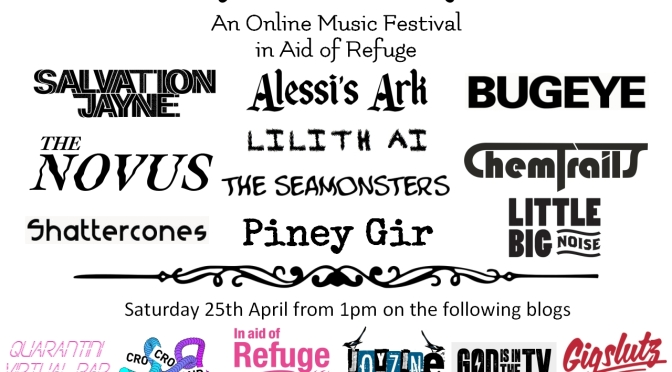 WATCH HERE: BALCONY FESTIVAL #3 – ONLINE MUSIC FEST IN AID OF REFUGE FROM 1PM ON SATURDAY 25TH APRIL