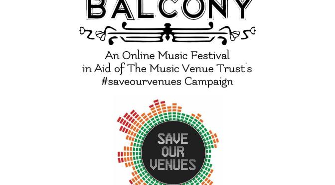 WATCH HERE: BALCONY FESTIVAL IN AID OF #SAVEOURVENUS FROM 1PM TODAY