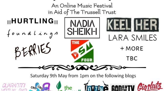 BALCONY FESTIVAL: WATCH HERE FROM 1PM ON SATURDAY 9TH MAY